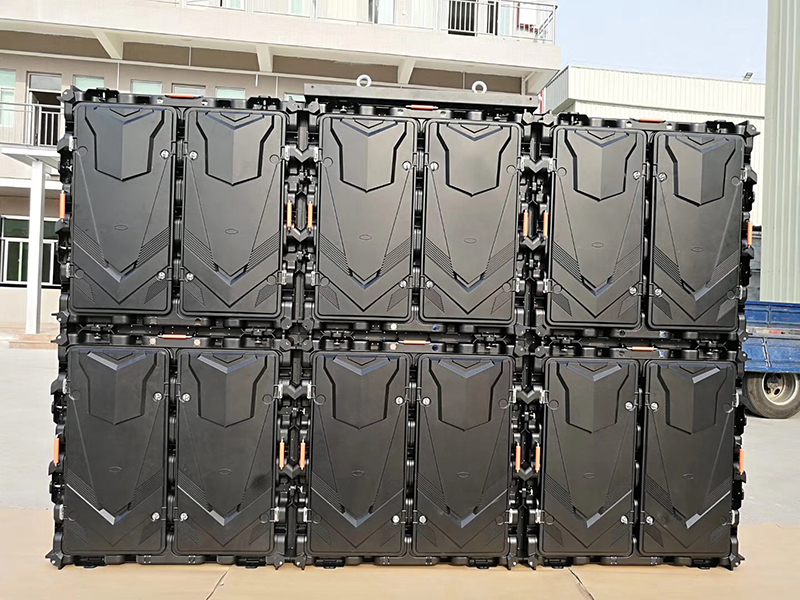 P6.67 Outdoor Led Display Screen 960x960mm Die Casting Magnesium cabinet