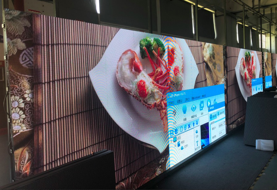 Rental led display 500x500mm cabinet