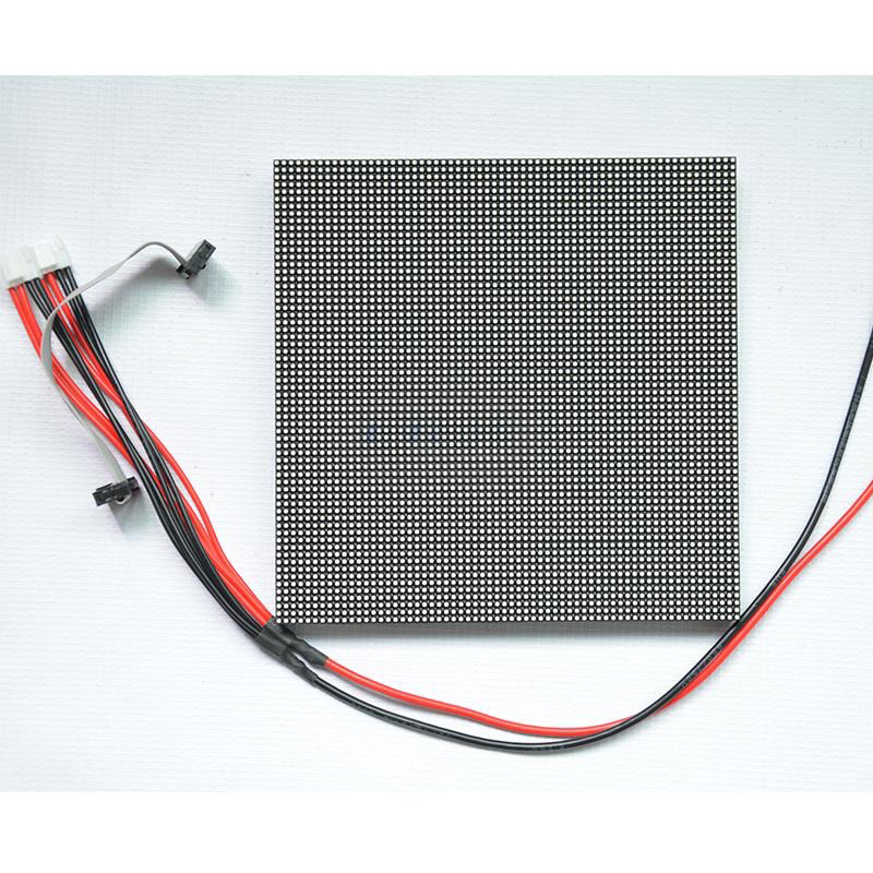 Full color P3 outdoor led module size 192x192mm