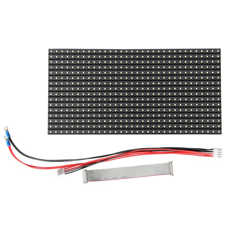 Full color P10 outdoor led module size 320x160mm\160x160mm