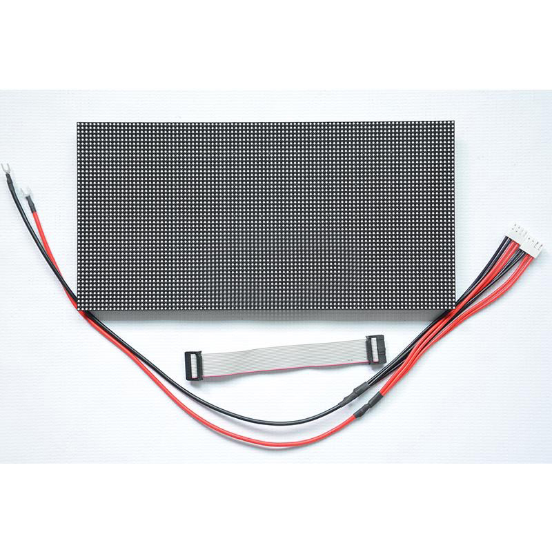 Full color P4 outdoor led module size 256x128mm