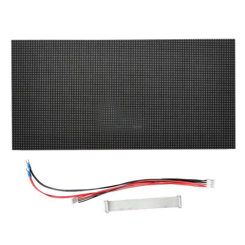P4 indoor led module size 256x128mm for signs