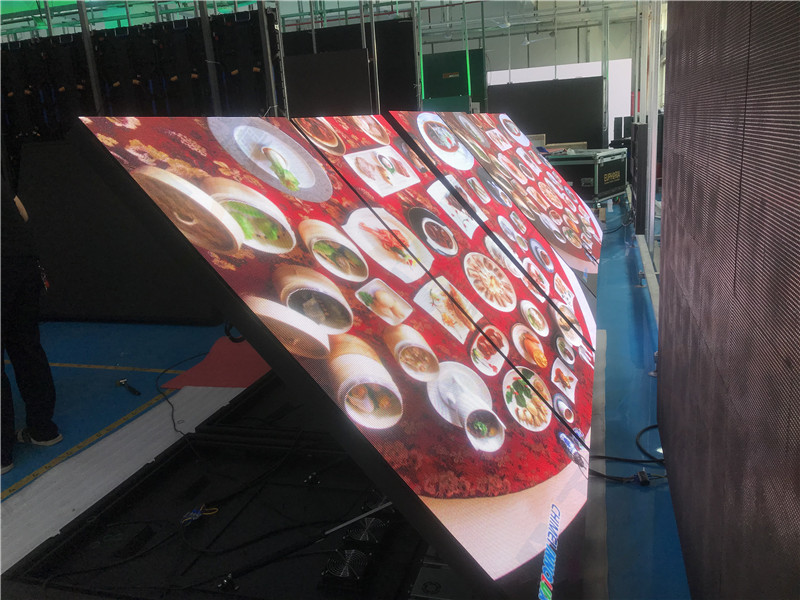 China P3 front service outdoor led billboard front-open led display Customized-Atop