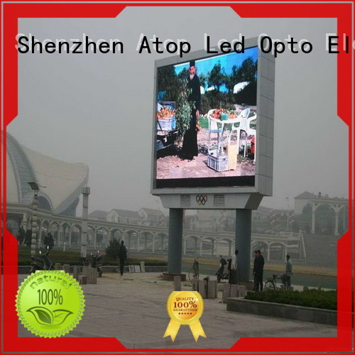 Atop online fixed led display outdoor for both outdoor and indoor