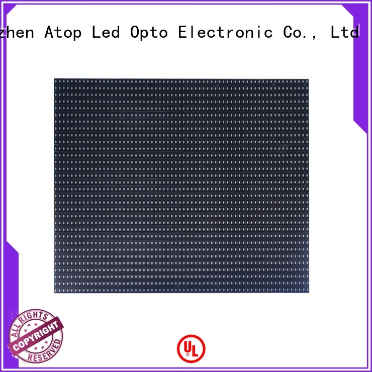 Atop customized indoor led module with relaible quality for indoor rental led display