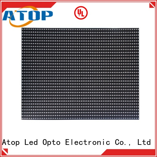 Atop display led modules for signs easy operation for indoor rental led display
