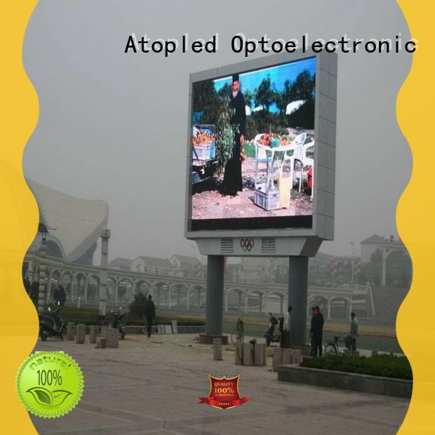 Atop display p3 led screen in market、