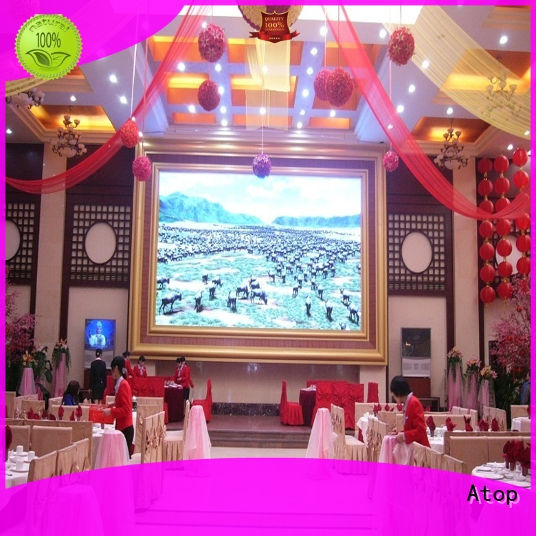 hd led display color with best color uniformity for indoor led display