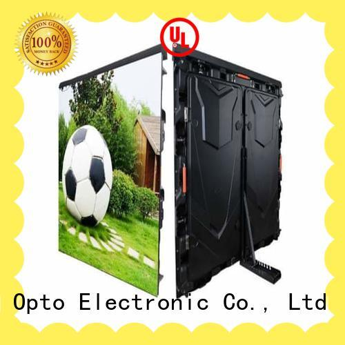 Atop digital display board with the stringent quality standards for outdoor