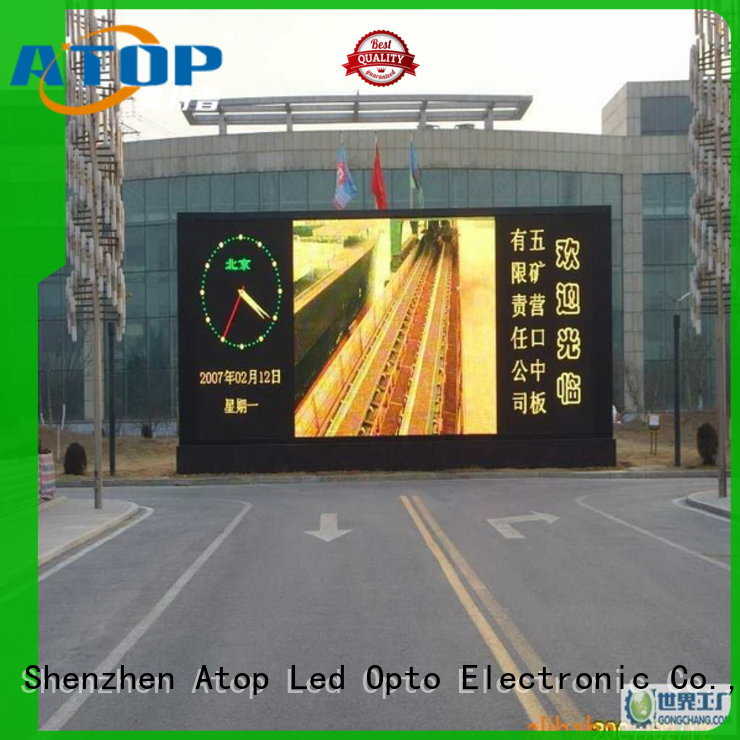 Atop reasonable outdoor led sign in market、