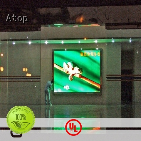 Atop wide view angle led display technology full for indoor led display