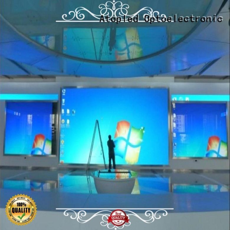 customized video wall display mounted with best color uniformity for advertising