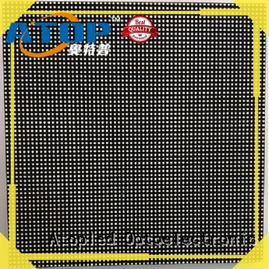 Atop customized led modules wholesale for indoor rental led display