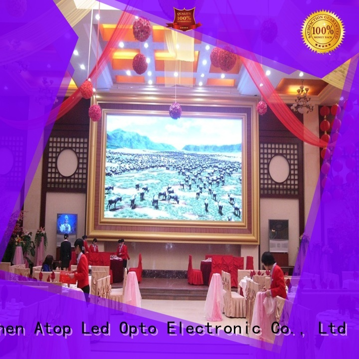 Atop indoor led wall for sale with relaible quality in market