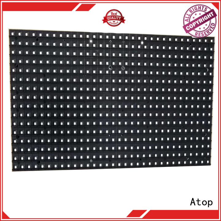 Atop module led display module for advertising