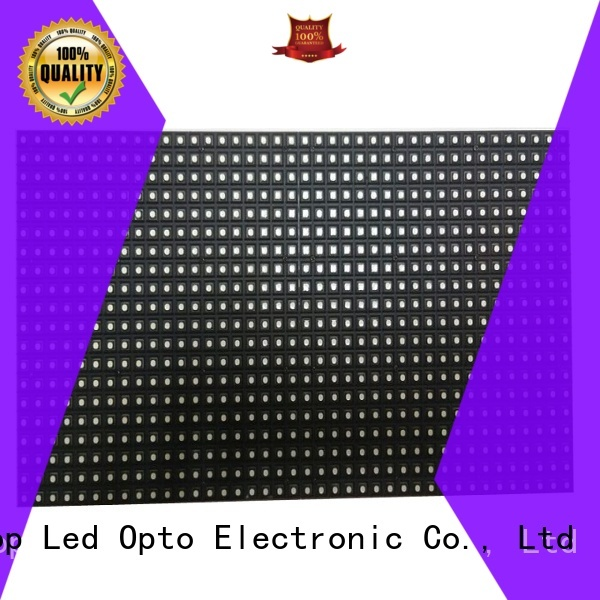 Atop quality full color led module easy operation for indoor rental led display