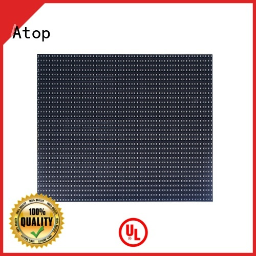 Atop online full color led module to meet different need for indoor rental led display