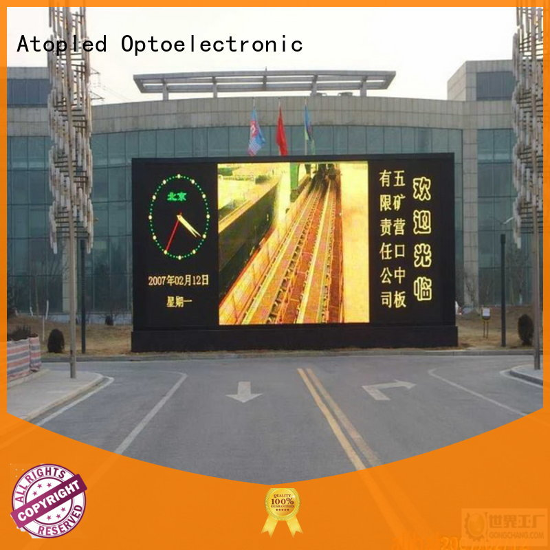 Atop outdoor p5 led panel to meet different need in market、