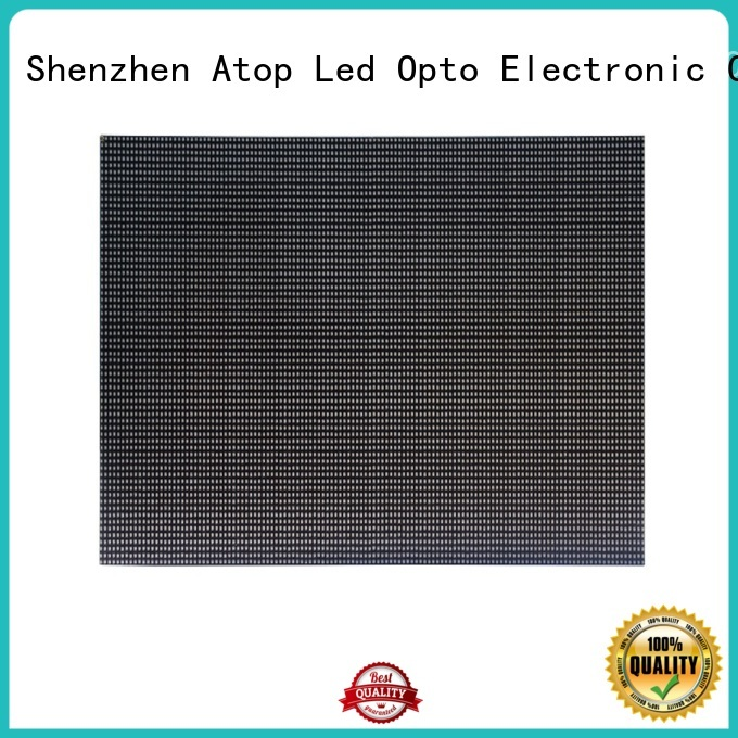 Atop size led module price easy operation for indoor rental led display