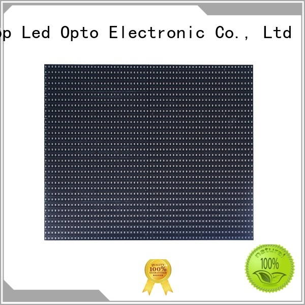 Atop customized p6 led module to meet different need for indoor rental led display