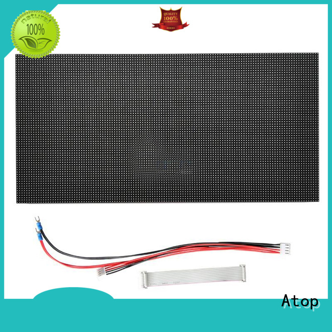 Atop online mini led module easy operation for advertising
