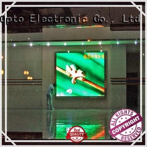 Atop video wall mount with best color uniformity for indoor led display