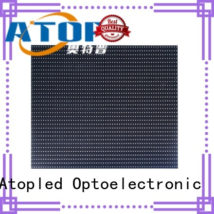 customized round led module module easy operation for indoor rental led display