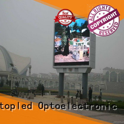 affordable outdoor led sign screen on sale for advertising