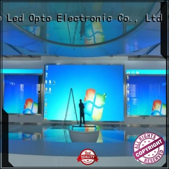 Atop wedding fixed led display with best color uniformity for advertising