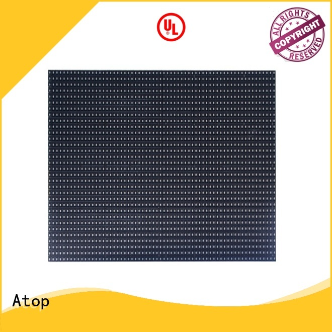 Atop module outdoor led module with relaible quality in market