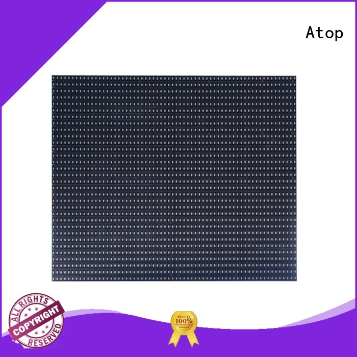 Atop customized led modules wholesale easy operation for indoor rental led display