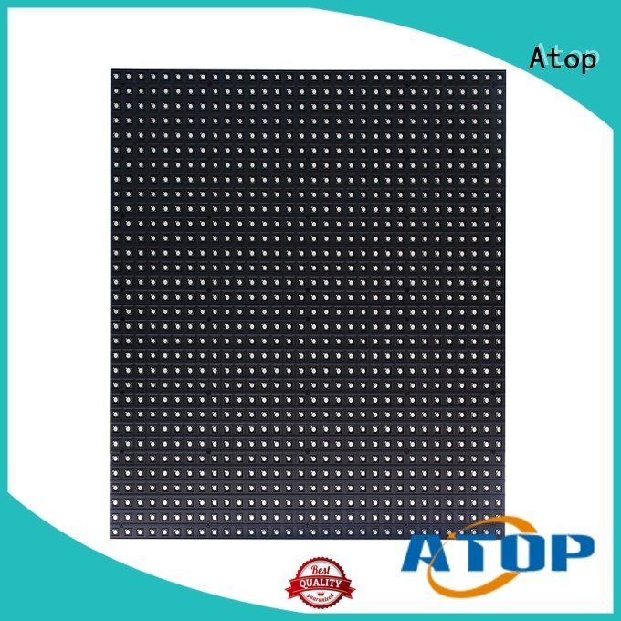 Atop online full color led module with relaible quality in market