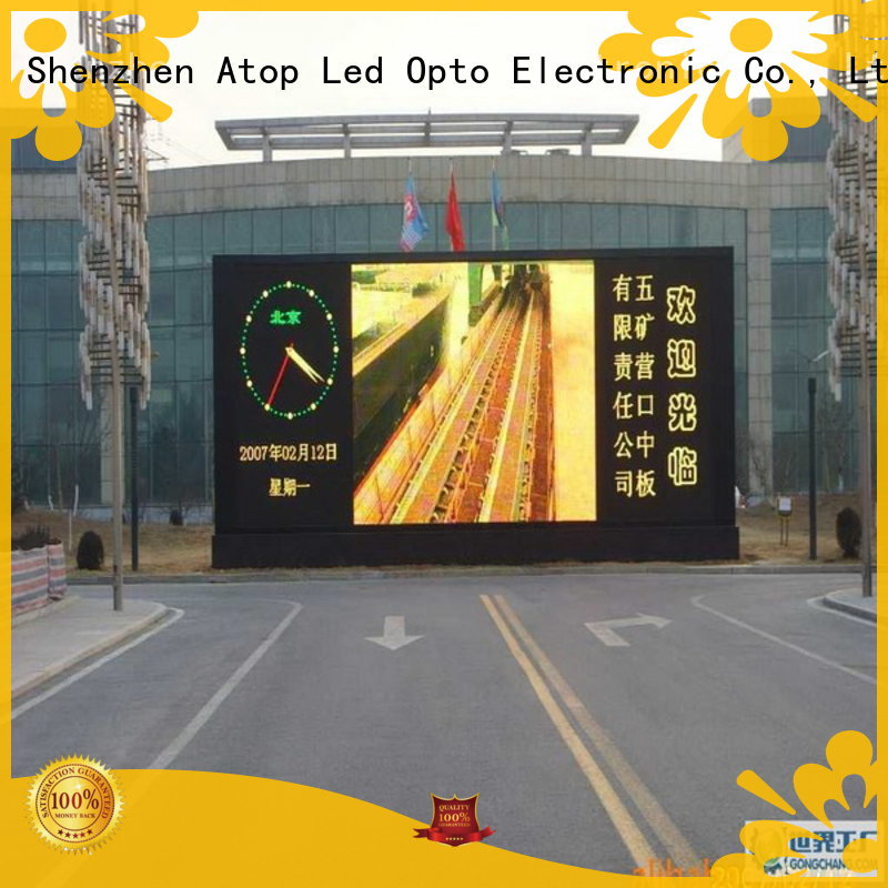 Atop customized digital billboard with relaible quality for display