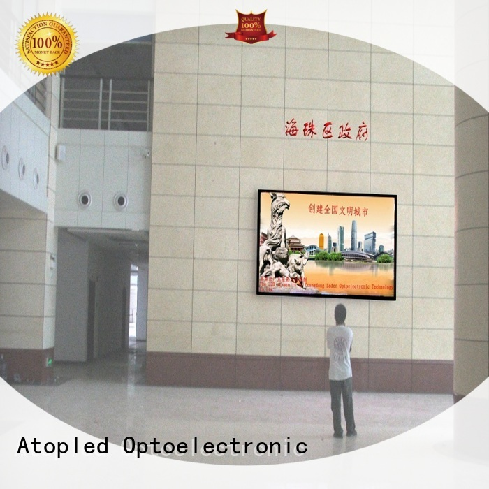 Atop good consistency led advertising screen with best color uniformity for indoor led display