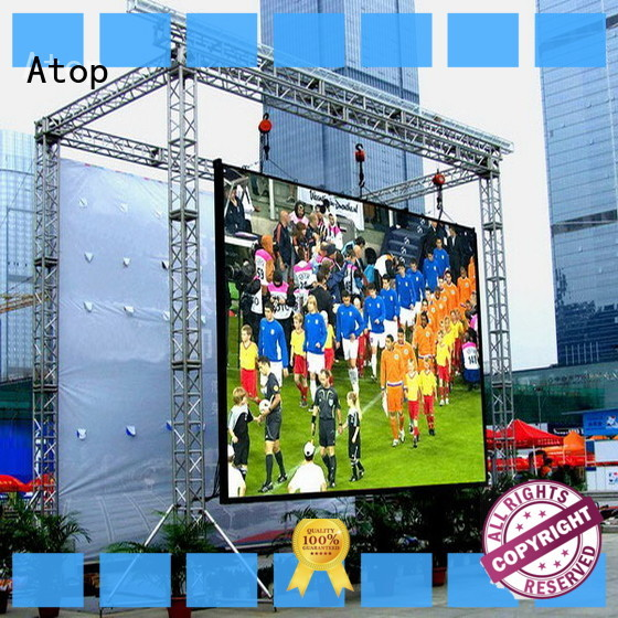 Atop waterproof outdoor led screen for sale for advertising