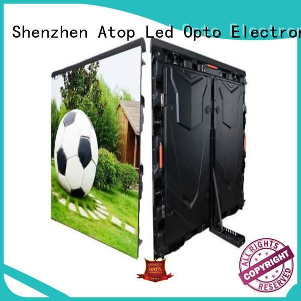 easily football advertising boards with high precision for football field