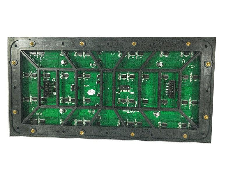 Full color P10 outdoor led module size 320x160mm\160x160mm-2