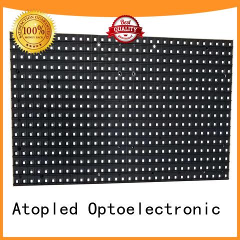 Atop led 12v led module easy operation for indoor rental led display
