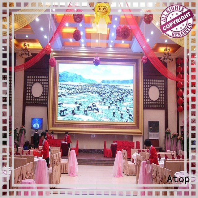 Atop mounted fixed led display with the stringent quality standards in market