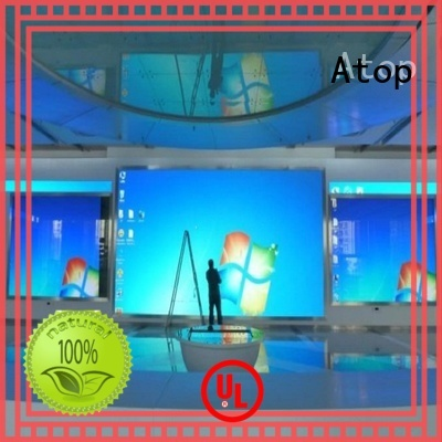 Atop installation video wall display with the stringent quality standards in market