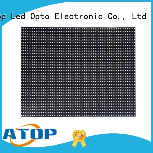 Atop led p6 led module in market