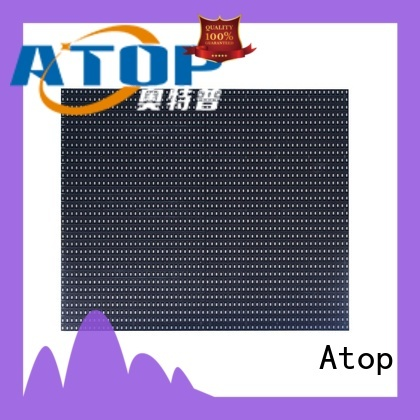 Atop color outdoor led module with relaible quality for advertising
