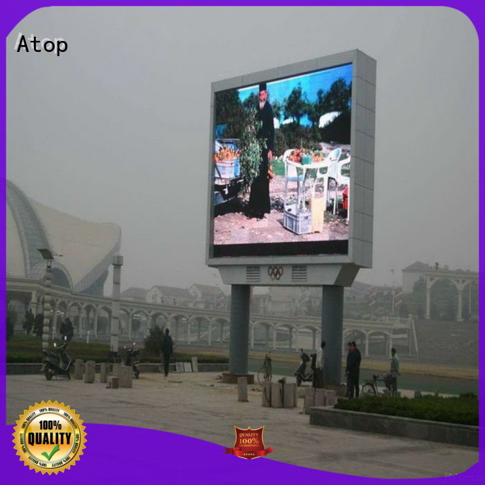 P5 Outdoor fixed installation led display screen