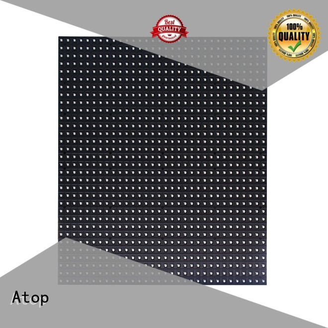 Atop high quality led modules wholesale easy operation for indoor rental led display