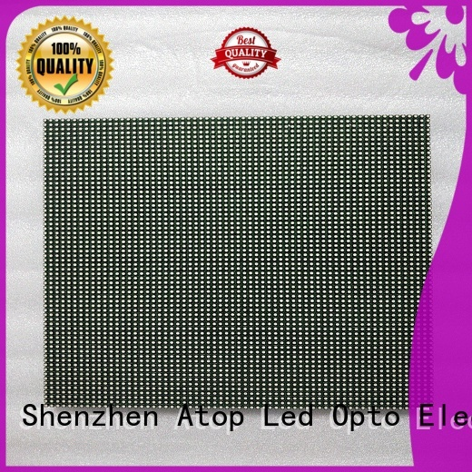 Atop quality p6 led module for indoor rental led display