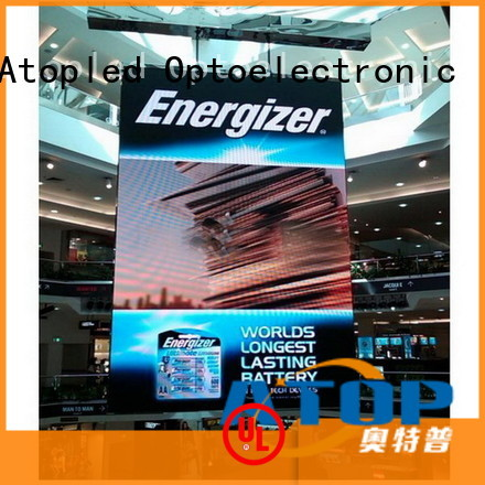 Atop highprecision indoor led panel easy assembling for indoor rental led display