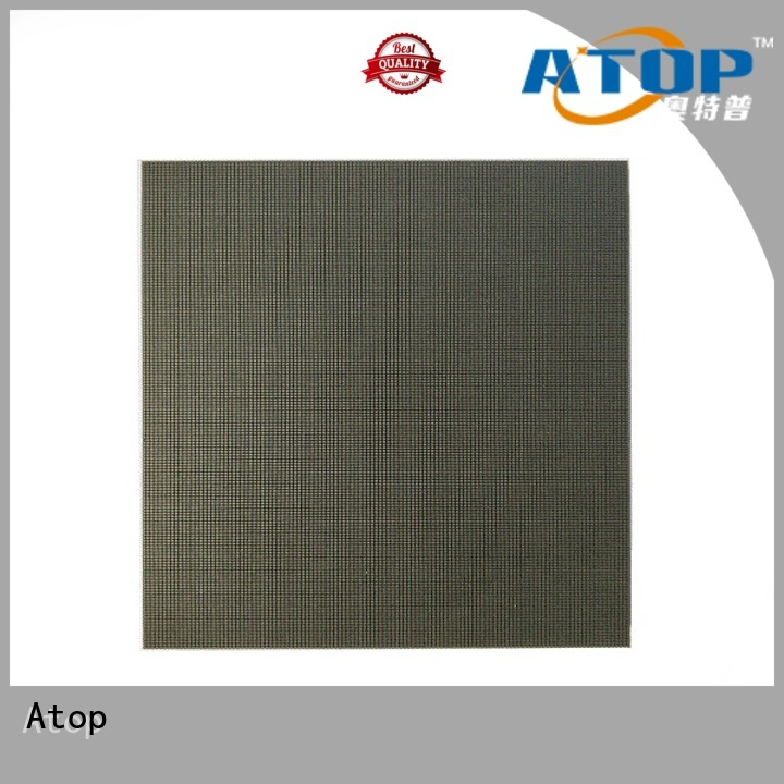 Atop sale led advertising screen with reliable driving IC for indoor led display