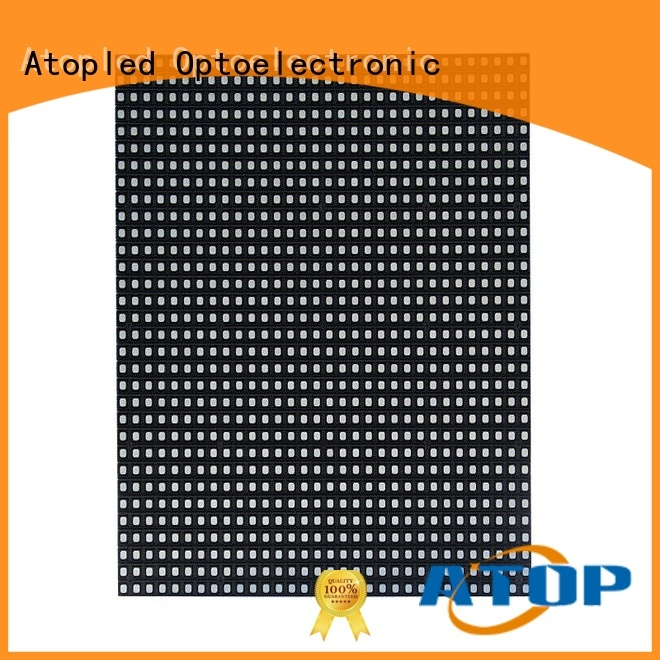 color 12v led module size for advertising Atop