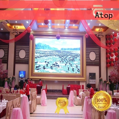 wide view angle fixed led display fixed with relaible quality for indoor led display