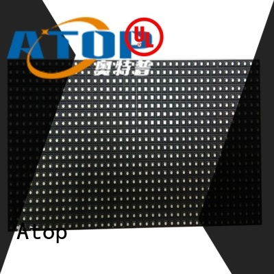 Atop high quality rgbw led module for indoor rental led display